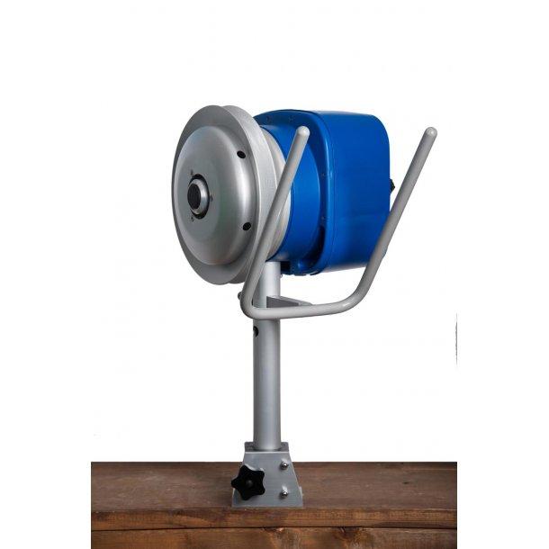 Hobbyfisher P220. Bensindrevet kraftblokk m/STOR type alum.skive m/2 kilspor for tau/liner...