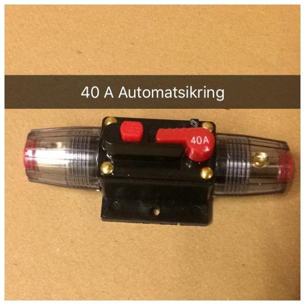 40 A Automatsikring